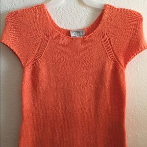 Tablets Collection Sweater Top Size M Orange